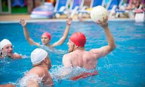 Jeux en piscine Inclus