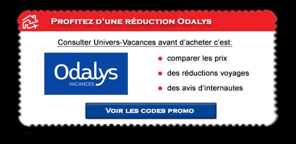 Code promo Odalys Vacances