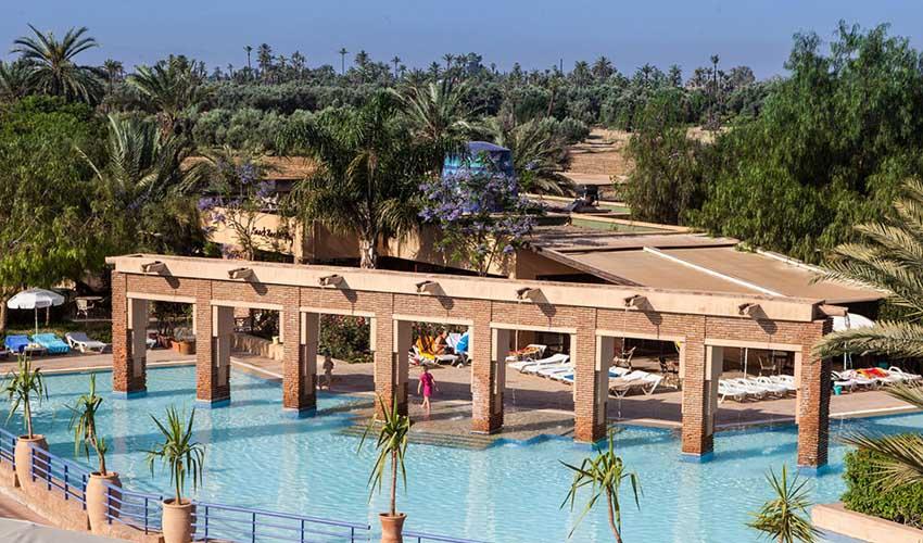 Club Marmara au Maroc : les piscines