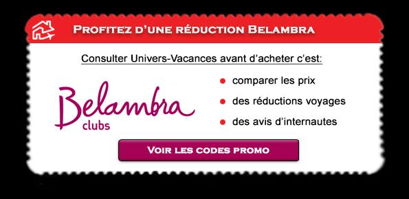 Code promotionnel Belambra