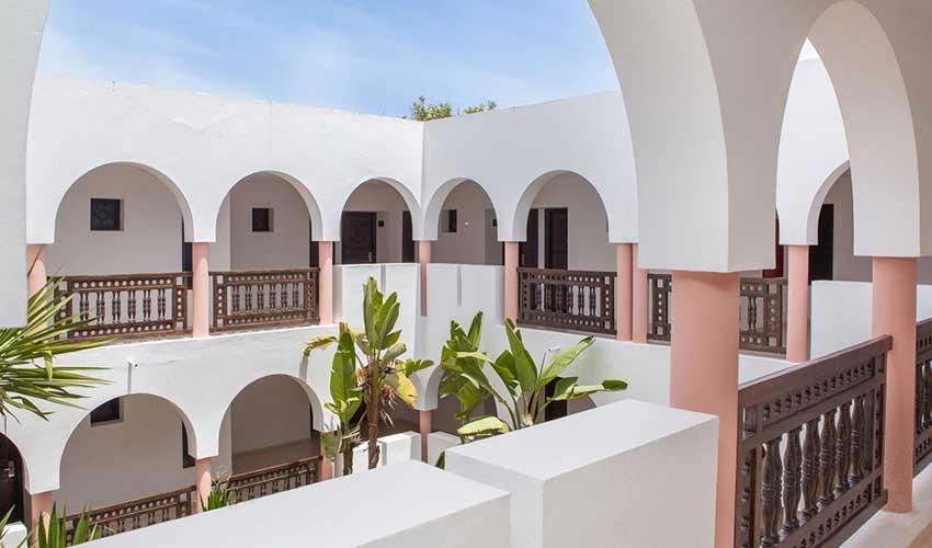 Hôtel Club Marmara : les architectures