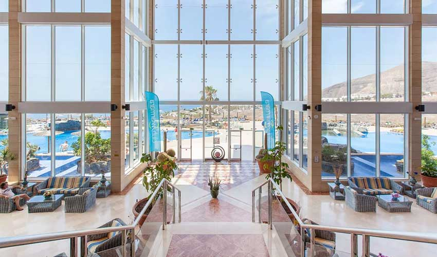 Hôtel Club Marmara : décoration soignée