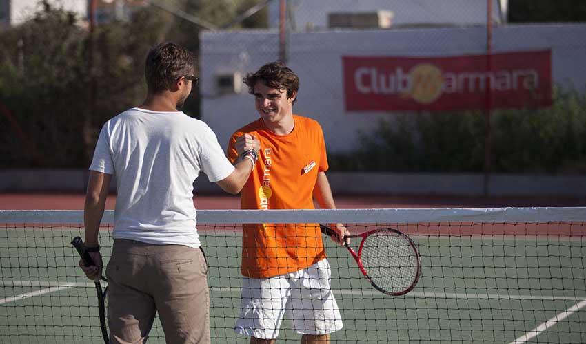 Séjours en Club Marmara : sport, tennis