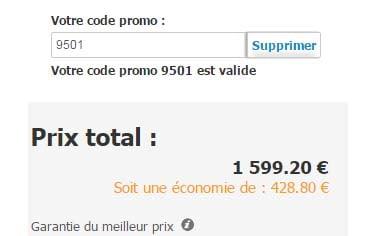 Utiliser code promo Pierre & Vacances