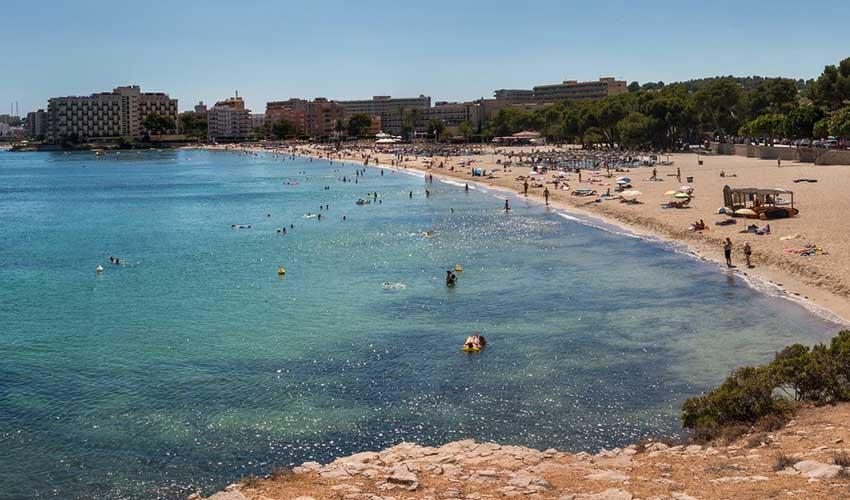 Clubs Jet tours en Espagne à Majorque : la plage