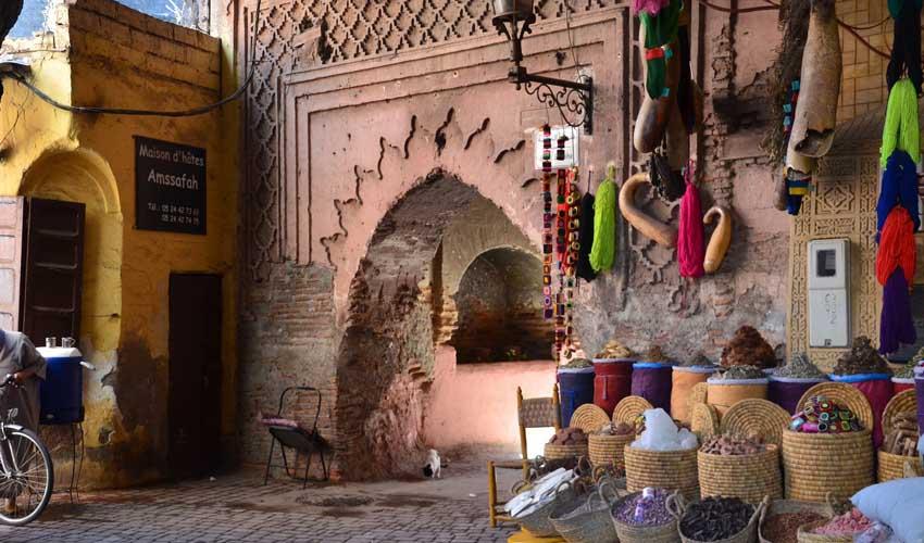 Clubs Jet tours au Maroc : le bazar