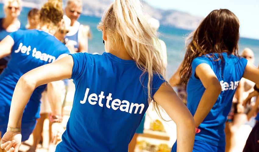 Jet team dans les clubs en Espagne de Thomas Cook