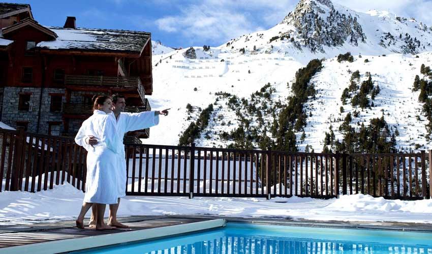 Pierre & Vacances : un SPA à la montagne