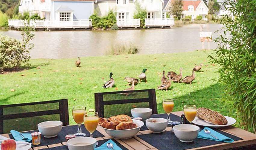 Les prestations Pierre & Vacances comme le petit déjeuner