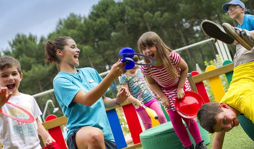 Villages Pierre & Vacances : les clubs enfants