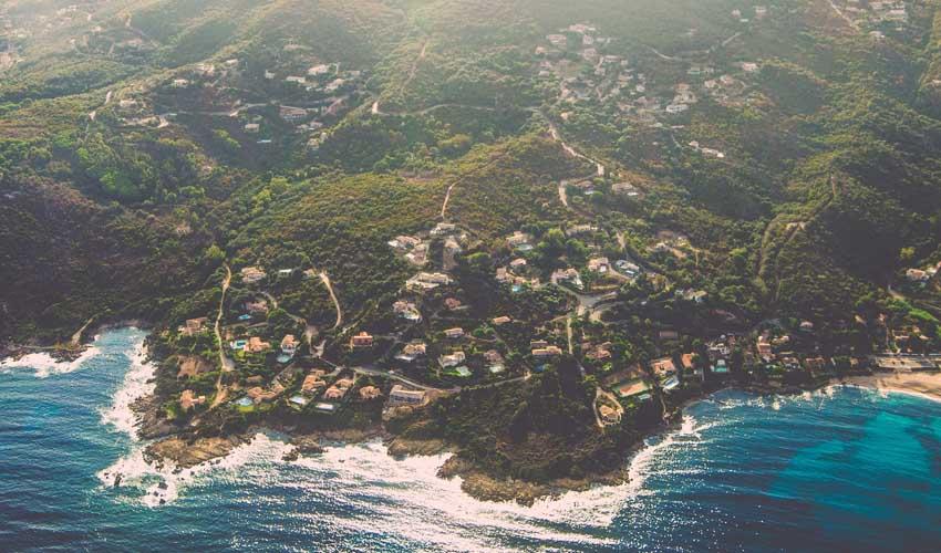 Paysages Corse avec Odalys-Vacances