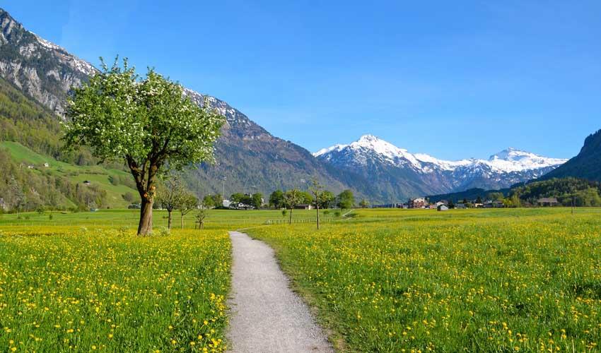 Paysage montagne avec Odalys