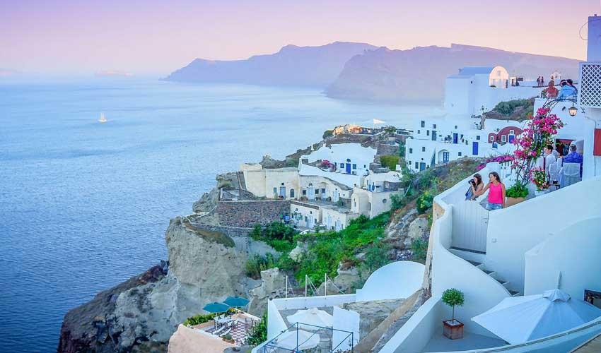 Paysage Grec en croisière Thomas Cook