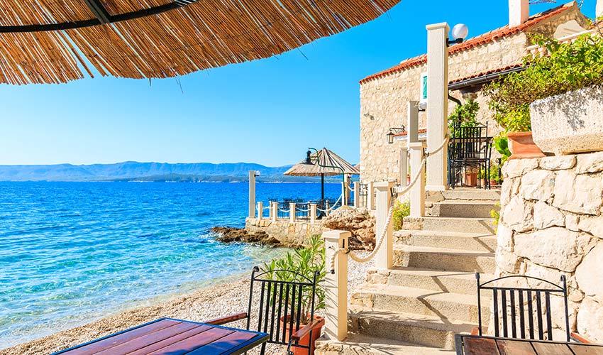 Vacances en Croatie sur l'île de Brac