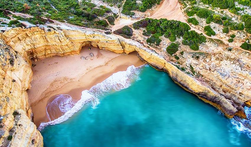 Falaises Algarve
