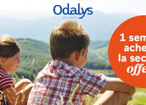 Partez à la montagne avec Odalys-Vacances (du 04 au 24 août)