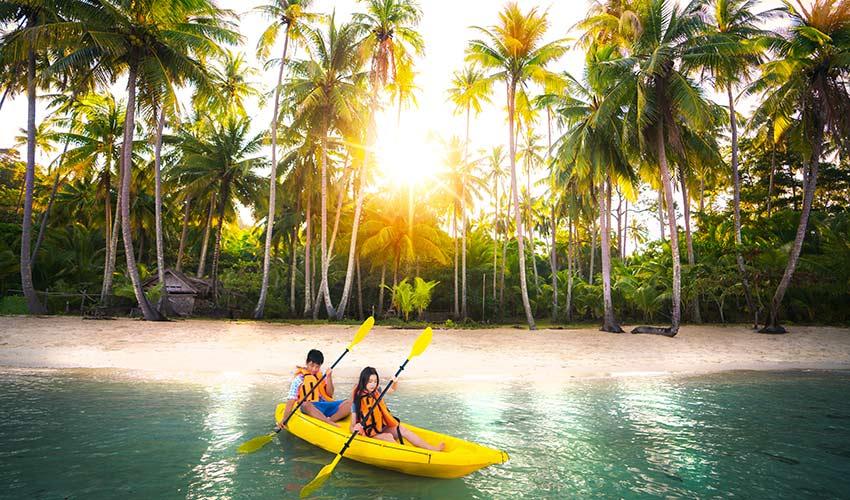 Sortie canoë à Phuket
