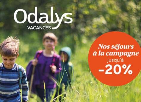 Vacances à la campagne avec Odalys à -20%