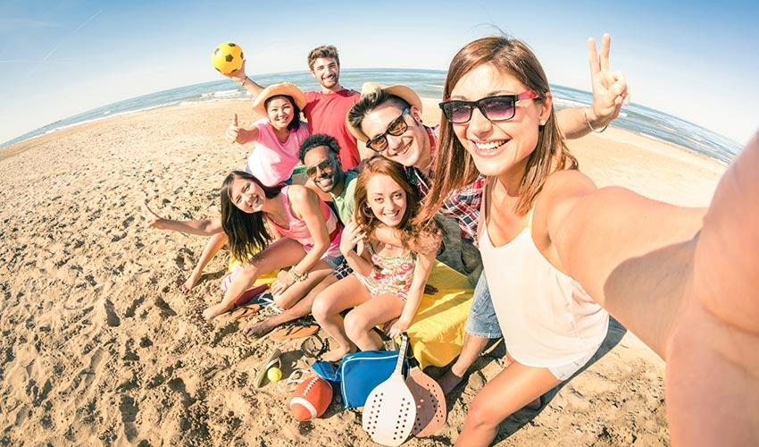 Clubs vacances Selfie célibataires