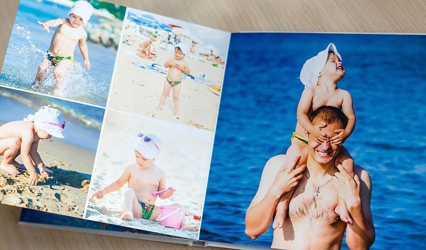 Livre photo vacances
