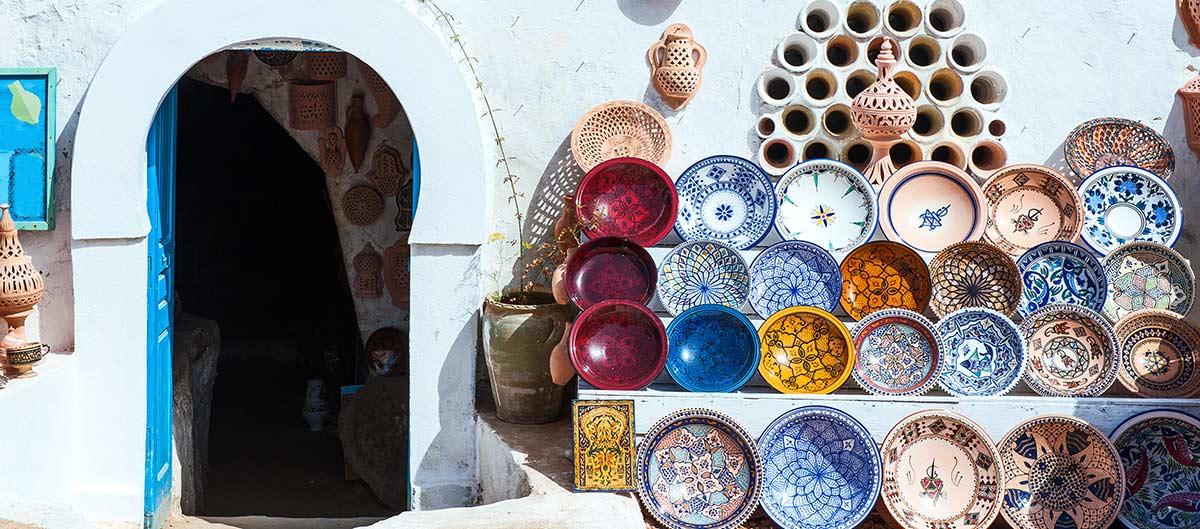 Marché à Djerba Tunisie