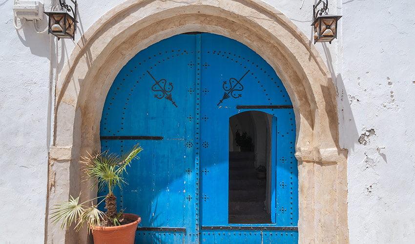 Porte Djerba Tunisie