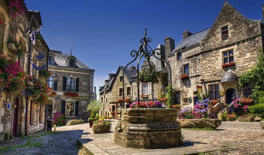 Rochefort-en-Terre en Bretagne
