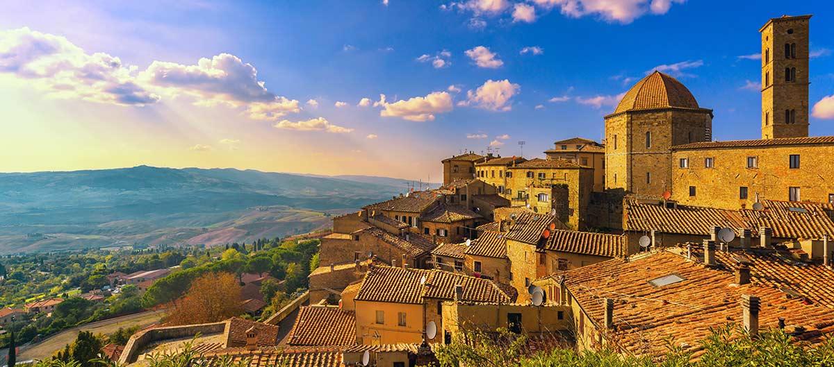 Volterra en Toscane