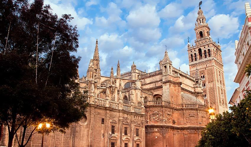 cathédrale de Séville et la Giralda