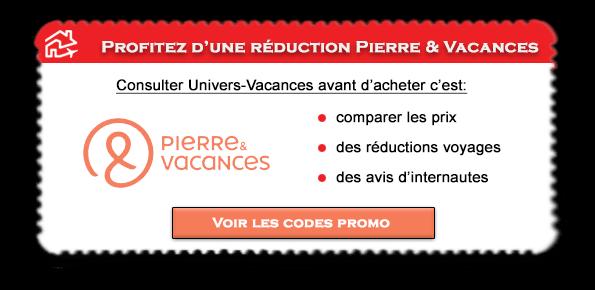 Code promo Pierre et Vacances