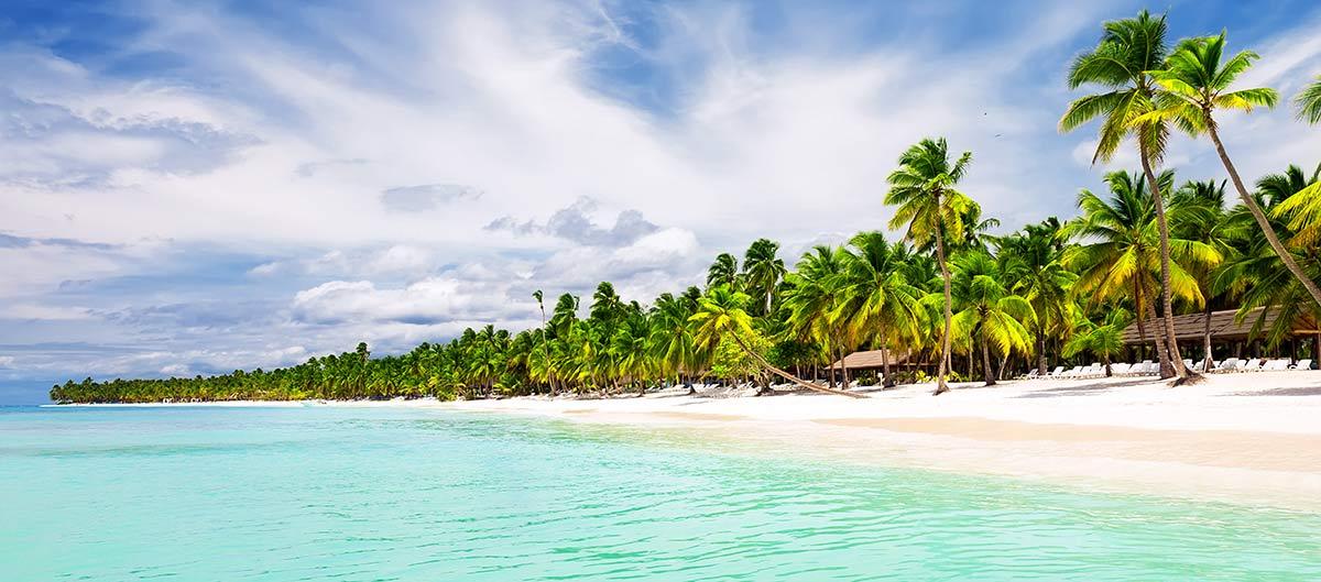 Plage de Punta Cana en République Dominicaine
