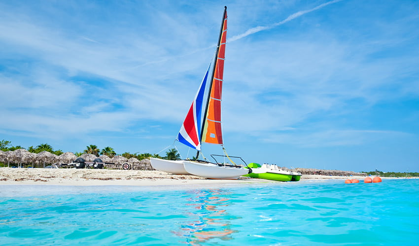 Activités nautiques à Varadero, Cuba