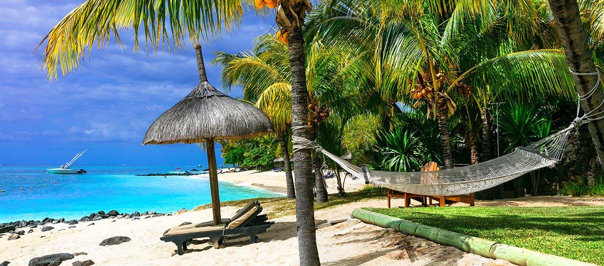 Plage de rêve à l'île Maurice