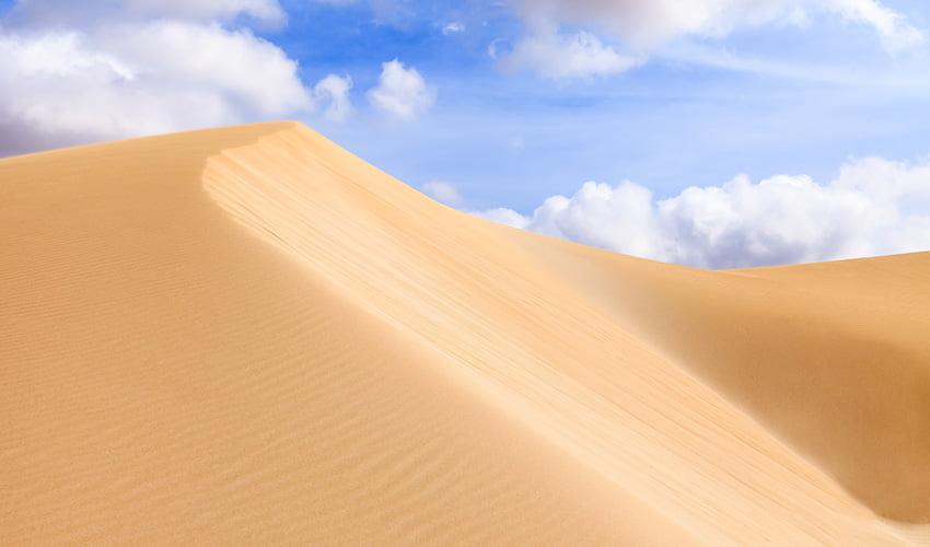 Au coeur des dunes de Boa Vista au Cap Vert