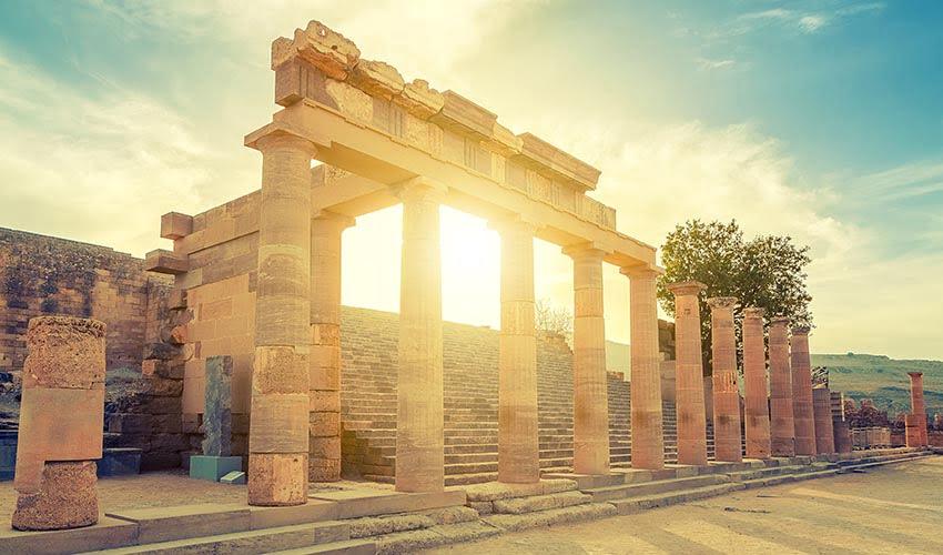 Site archéologique Rhodes