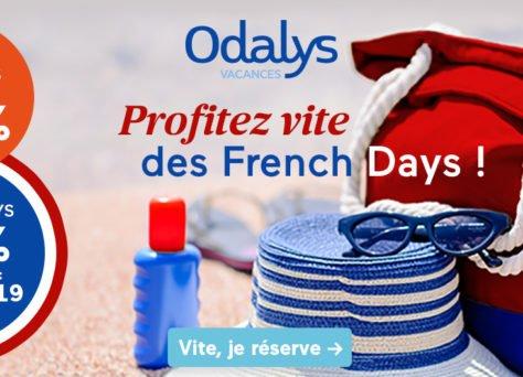 Profitez d'une réduction supplémentaire -10% avec Odalys