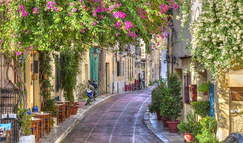 Découverte Plaka à Athènes