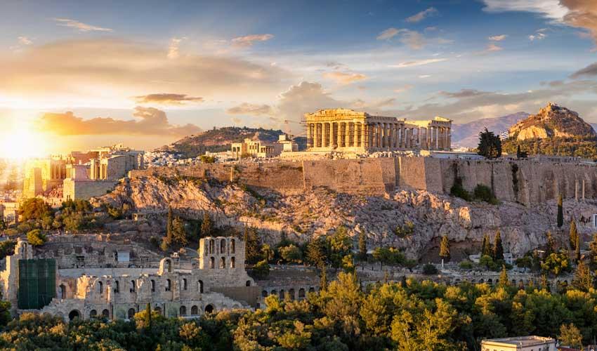 Magnifique vue sur Athènes