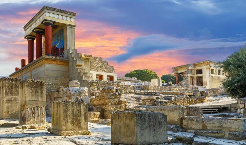 Patrimoine de la Crète, excursion en club vacances