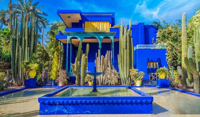 Les Jardins de Majorelle en club vacances à Marrakech