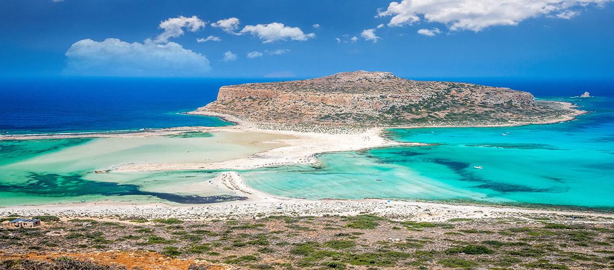 Le Lagon de Balos en Crète pour une randonnée en famille