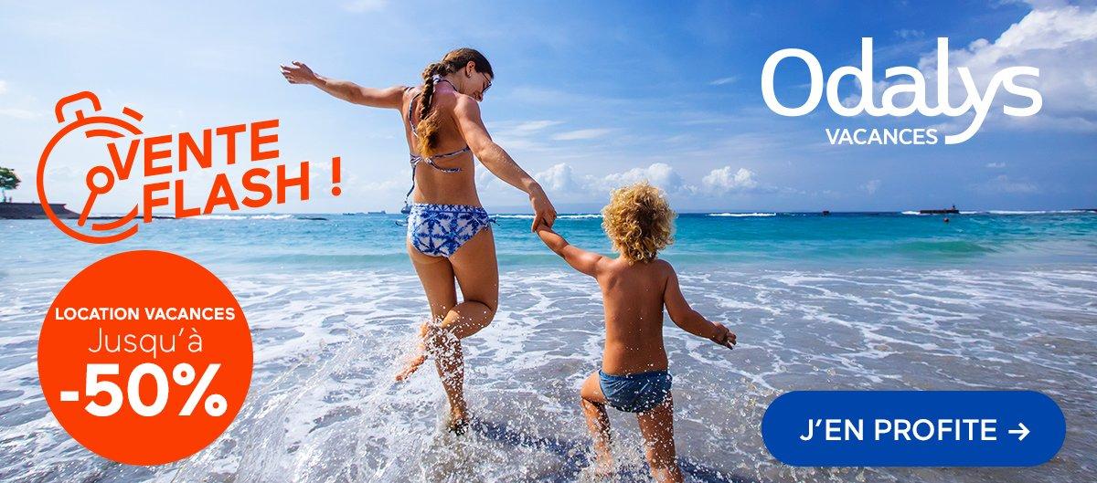 Odalys-Vacances : vente flash