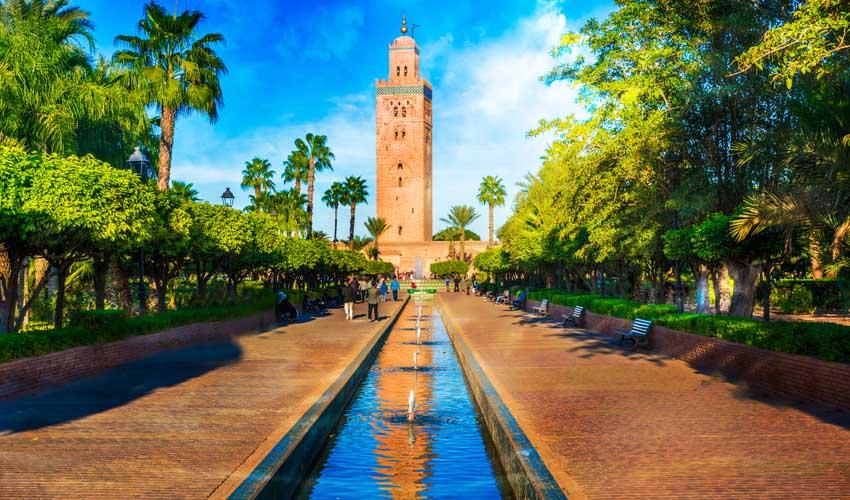 Visiter les mosquée de Marrakech