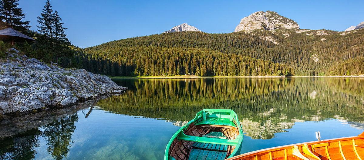 Le parc national du Durmitor et sa forêt luxuriante