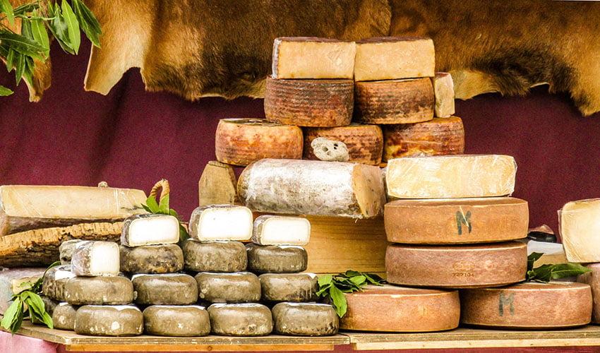 Foire du fromage en Toscane