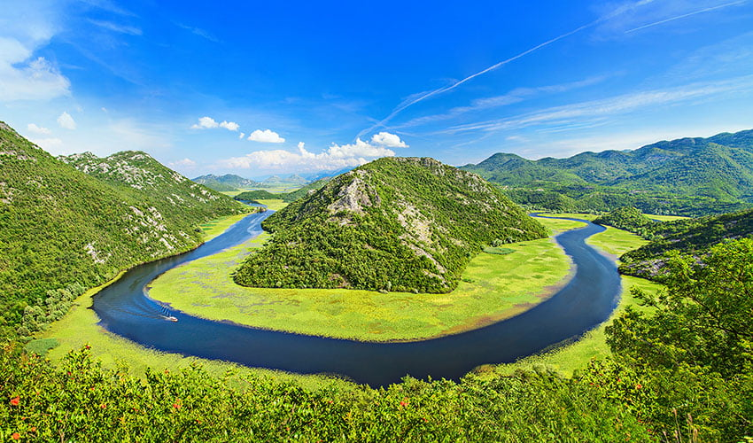 Le parc national du lac de Skadar et ses eaux turquoise