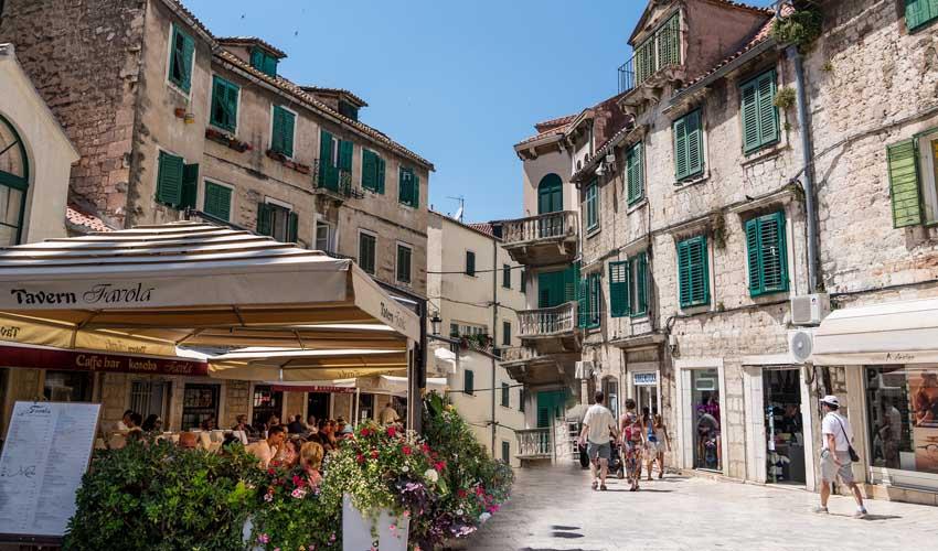 Village de Split en Croatie