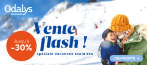 Promotion Odalys : vente flash hiver