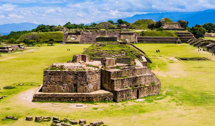 Circuit Fram au Mexique : ruines Zapothèque