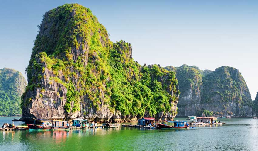 Circuit Fram au Vietnam : Baie d'HaLong